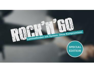 Уникальная коллекция ламината  WINEO Rock-N-Go
